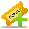 icon ticket